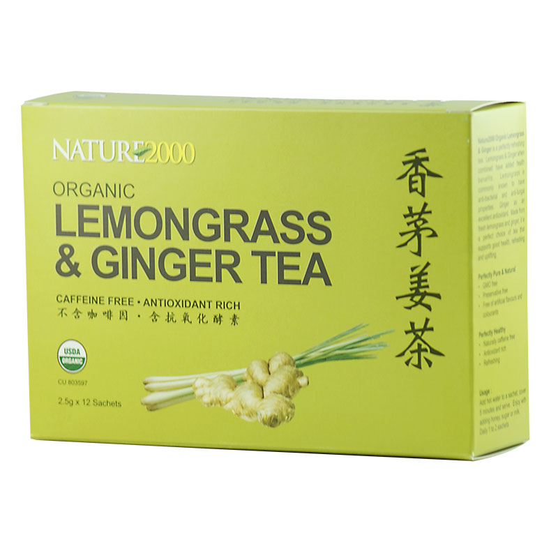 Organic Lemongrass & Ginger Tea